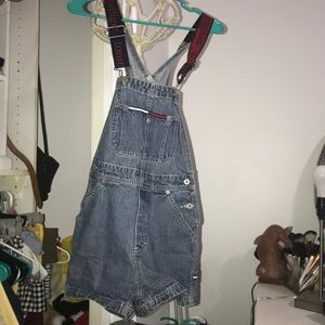 RARE XS tommy hilfiger overalls